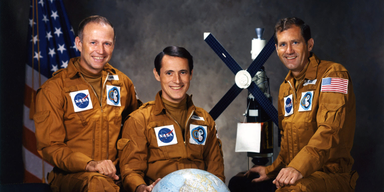 Skylab 4 crew